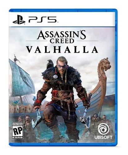 Imagen 1 de 2 de Assassins Creed Valhalla Ps5 Fisico Sellado Original Ade