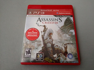 Assassins Creed 3 Greatest Hits Para Ps3