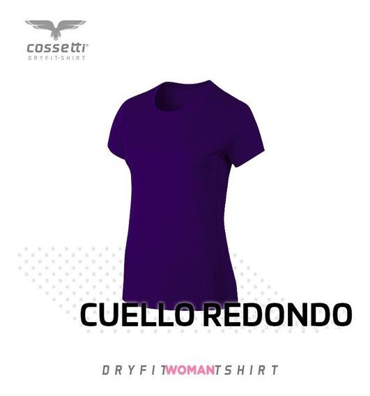 Playera Cuello Redondo Cossetti Manga Corta Dry Fit Hombre