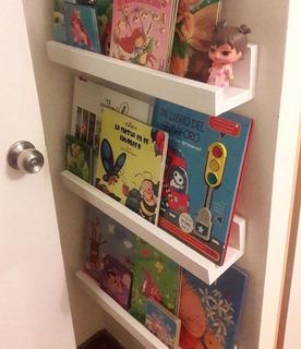 Repisa Flotante Librero Niños Instalación Gratis