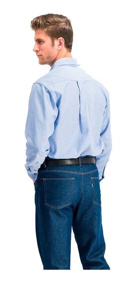 Camisa Manga Larga Oxford 100% Algodón Oferta
