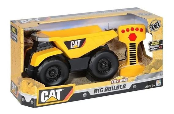 Vehiculo De Construccion Radio Control C/sonido Caterpillar