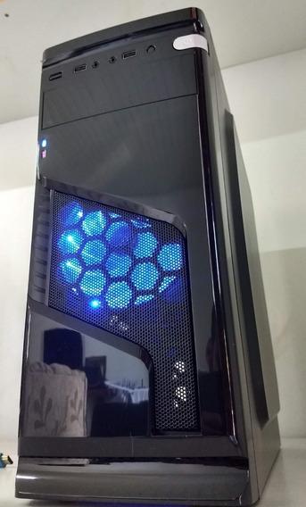 Computador Pc Cpu Gamer Gtx 1050 Ti Core I5 12gb Ram Hd500g