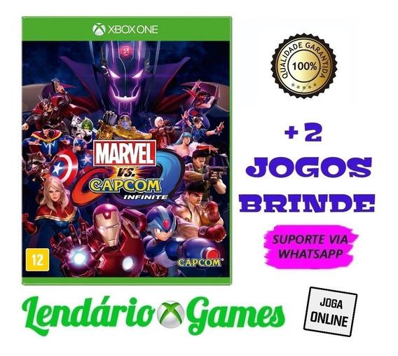 Marvel Vs. Capcom Infinite X One M. Dig. + Brindes