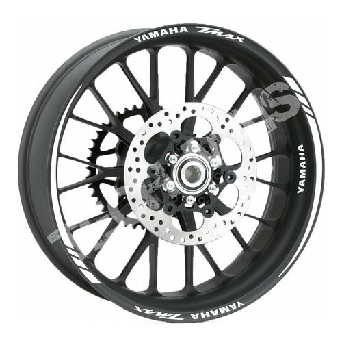 Imagem 1 de 6 de Kit Friso Refletivo Moto Adesivo Yamaha Tmax T Max Faixa
