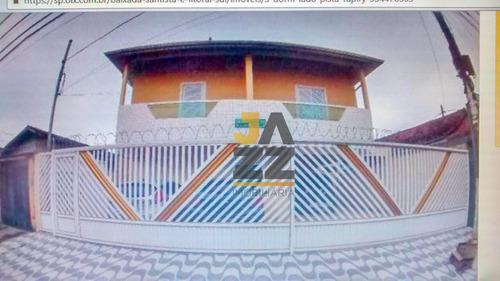 Casa Com 3 Dormitórios À Venda, 90 M² Por R$ 260.000,00 - Tupi - Praia Grande/sp - Ca13229