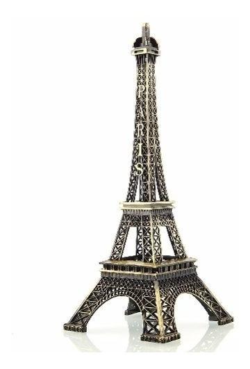 Torre Eiffel Paris Grande 18 Cm Decoração Presente