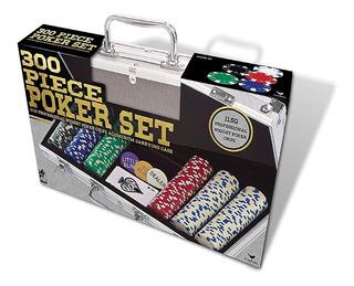 Maletín De Poker De 300 Fichas De Lujo