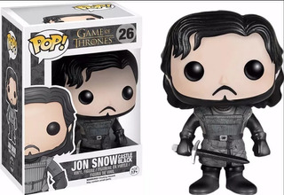 Funko Pop Jon Snow Castle Black 26 - Game Of Thrones