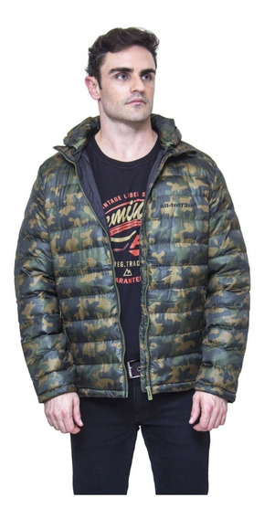 Jaqueta All Terrain Camuflada Verde Atr Inverno Capuz