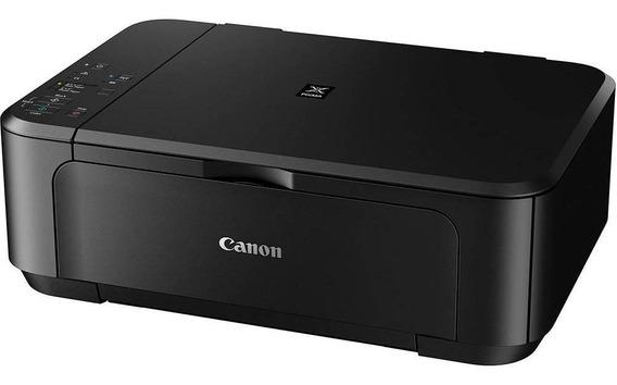 Impressora Canon Mg3510 Wi-fi Preta Com Cartuchos