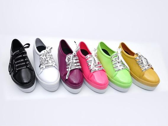 Zapatillas Mujer Para Lluvia Das Luz Art 4002 Zona Zapatos