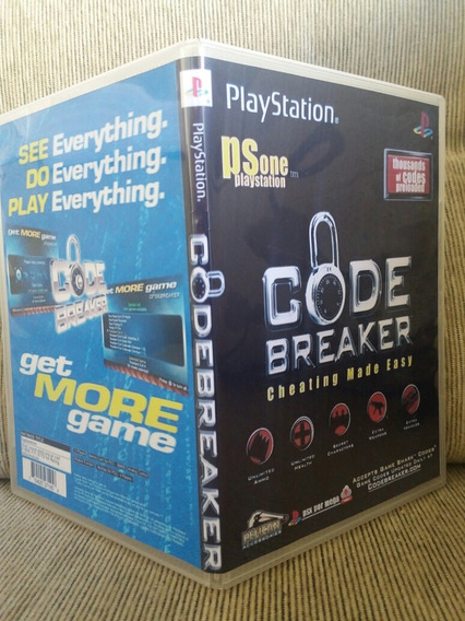 Code Breaker Para Playstation 1 - Patch