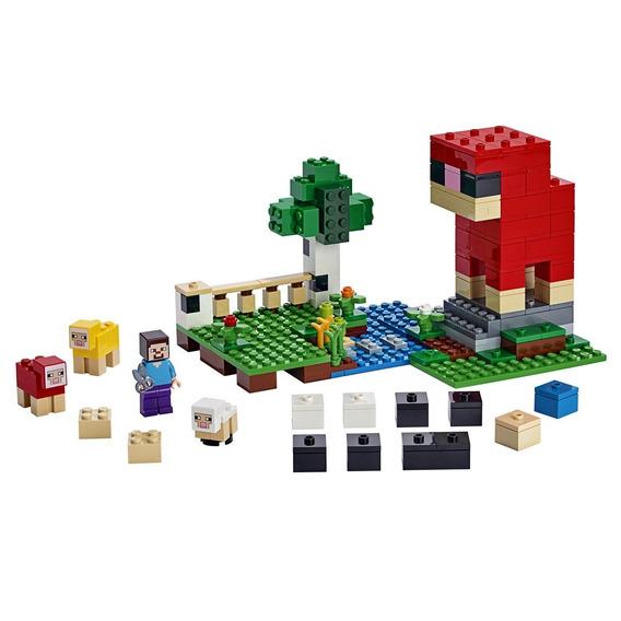 Lego Minecraft - Fazenda De Lã