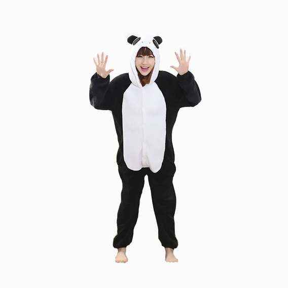 Kigurumi Panda Cosplay Pijama Mameluco Disfraz Moda Kawaii