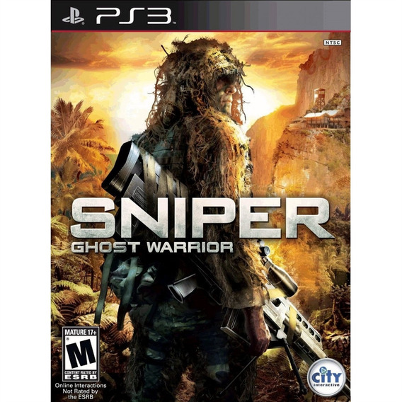Sniper: Ghost Warrior Greatest Hits - Ps3 Lacrado