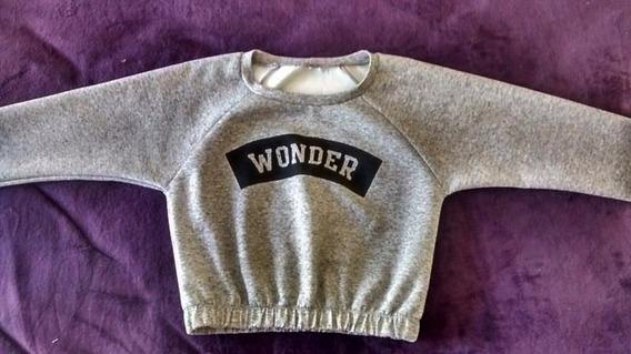 Suéter Gris Wonder