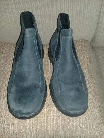Zapatos Tipo Botín Caballero Casual Negro Talla 42 Nembo