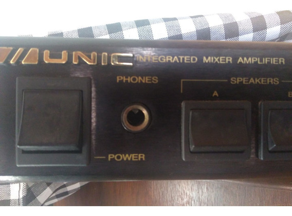 Amplificador Com Mixer Integrado Unic Ac 800