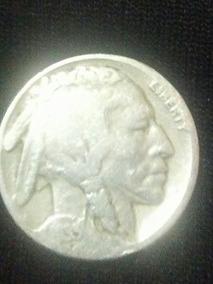 Moneda De Plata Antigua 5 Centavos 1935 Negociable 350