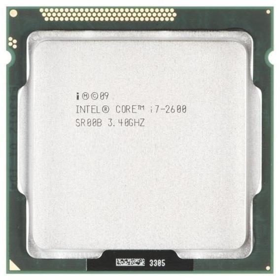 Processador Intel I7 2600 3.4 Ghz, Lga 1155, Oem, Promoção + Nfe