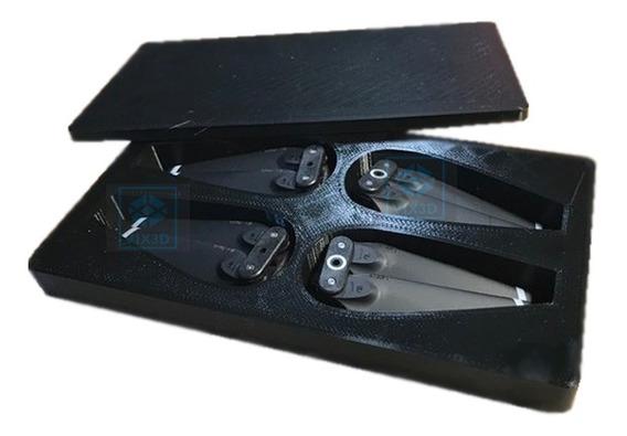 Case Caixa Box Para Transporta 4 Pares De Hélices Dji Spark