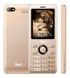 Celular Red Mobile Prime 2.4 M012f - Dourado