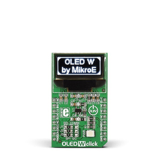Display Oled W Click Mikroe