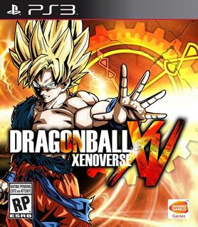 Dragon Ball Xenoverse Ps3 Español Digital Tenelo Hoy!!