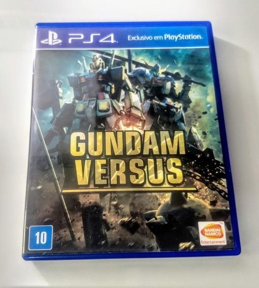 Gundam Versus Ps4 - Mídia Física - Usado Impecável