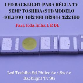 Kit Led Toshiba Philco 6v 1.8w 3030 Entrega Imediata 20 Und