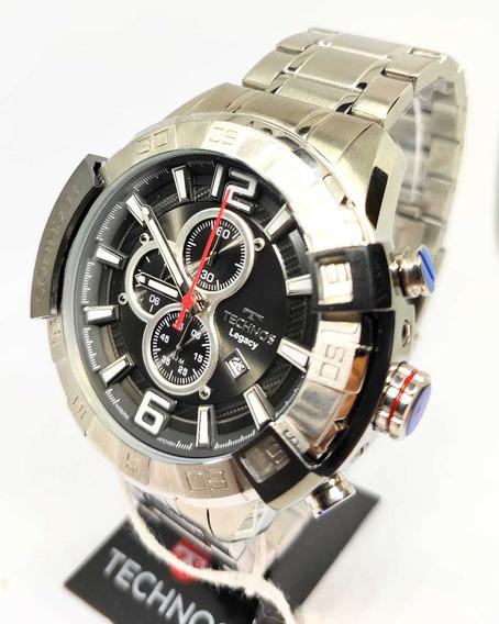 Relógio Technos Legacy Prata Mascuilino Os10fd/1c - Original