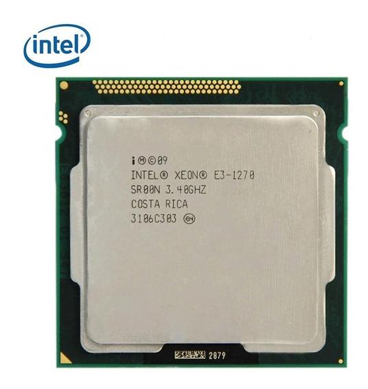 Intel Xeon E3 1270 Lga 1155 Equivalente Core I7 2600k 3770k