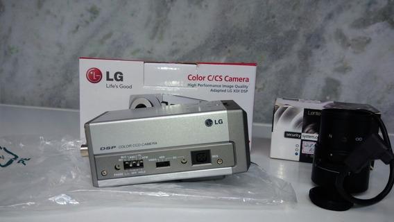 Câmera Segurança Lg Lvc-s60hm + Lente De 2.8-10mm