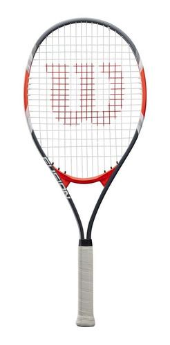 Raqueta Tenis Wilson Federer Fusion Xl Grip 4 3/8 + Funda