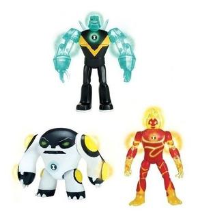 Muñecos Ben 10 Power Up Aliens Figura. Caffaro