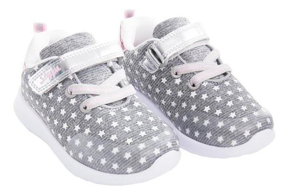 Zapatilla Little Star Gris Stepps