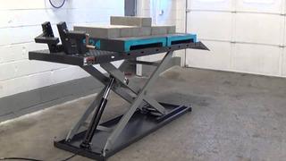 Projeto De Construção Rampa Para Motos (elevador)