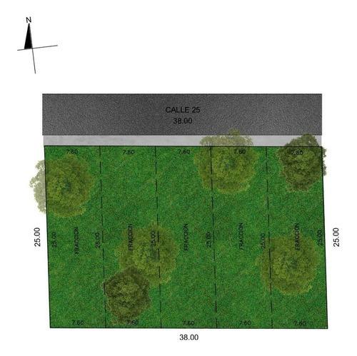 Imagen 1 de 2 de Venta De Terrenos Residenciales (5) En Merida, Cholul $446.500 Folio 297c