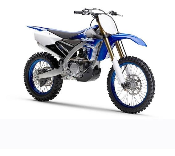 Moto Yamaha Yz 250 Fx 0km 2018 Azul