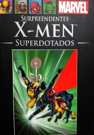 Surpreendentes X-men: Superdotados (marvel Salvat Nº36)