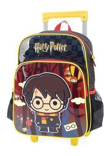 Mochila Com Rodas Harry Potter Preto Ic32972hp-pt Pm