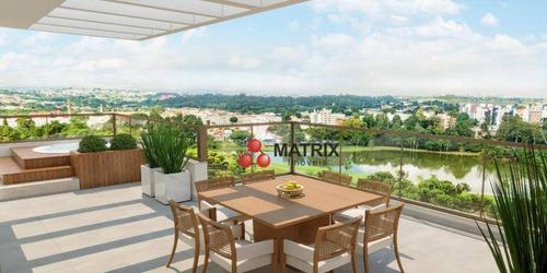 Imagem 1 de 30 de Cobertura Com 4 Dormitórios À Venda, 150 M² Por R$ 1.520.000,00 - Bacacheri - Curitiba/pr - Co0460