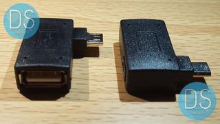 2pz Adaptador Mini Usb Otg Snes Mini Classic Envio Gratis!