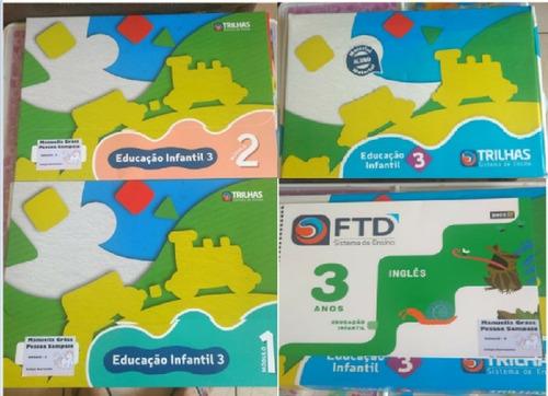 Livros Trilhas Sistema De Ensino Ftd - Infantil 3