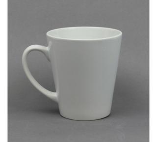 Taza Blanca Tipo Latte Sublimarts 12oz