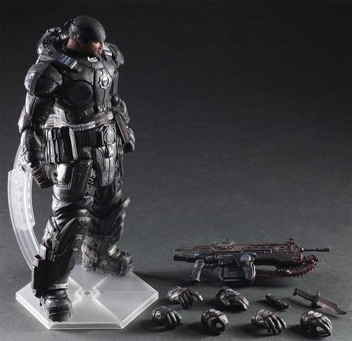 Gears Of Wars Figura Marcus Fénix - Entrega Inmediata
