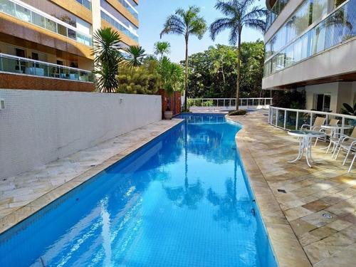 Apartamento Residencial À Venda, Riviera De São Lourenço, Bertioga. - Ap0442
