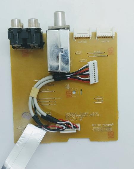 Placa Auxiliar / Tuner Cabo Flat Mini System Lg Eax65368202