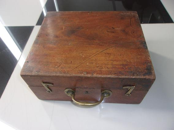 Estuche De Madera, Adorno, Caja Arma, Antigua